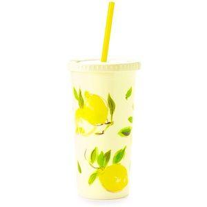NWT KATE SPADE ♠️ New York Insulated Tumbler Lemon